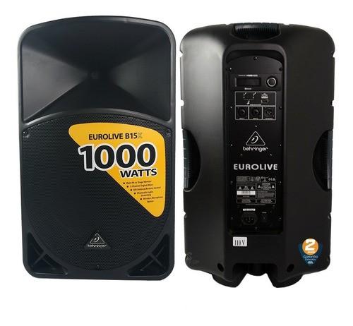 Caixa Ativa Behringer B15x 1000wrms DSP Bluetooth 110v