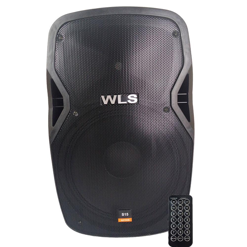 Caixa Ativa WLS S15 430 Wrms Bluetooth/USB/SD
