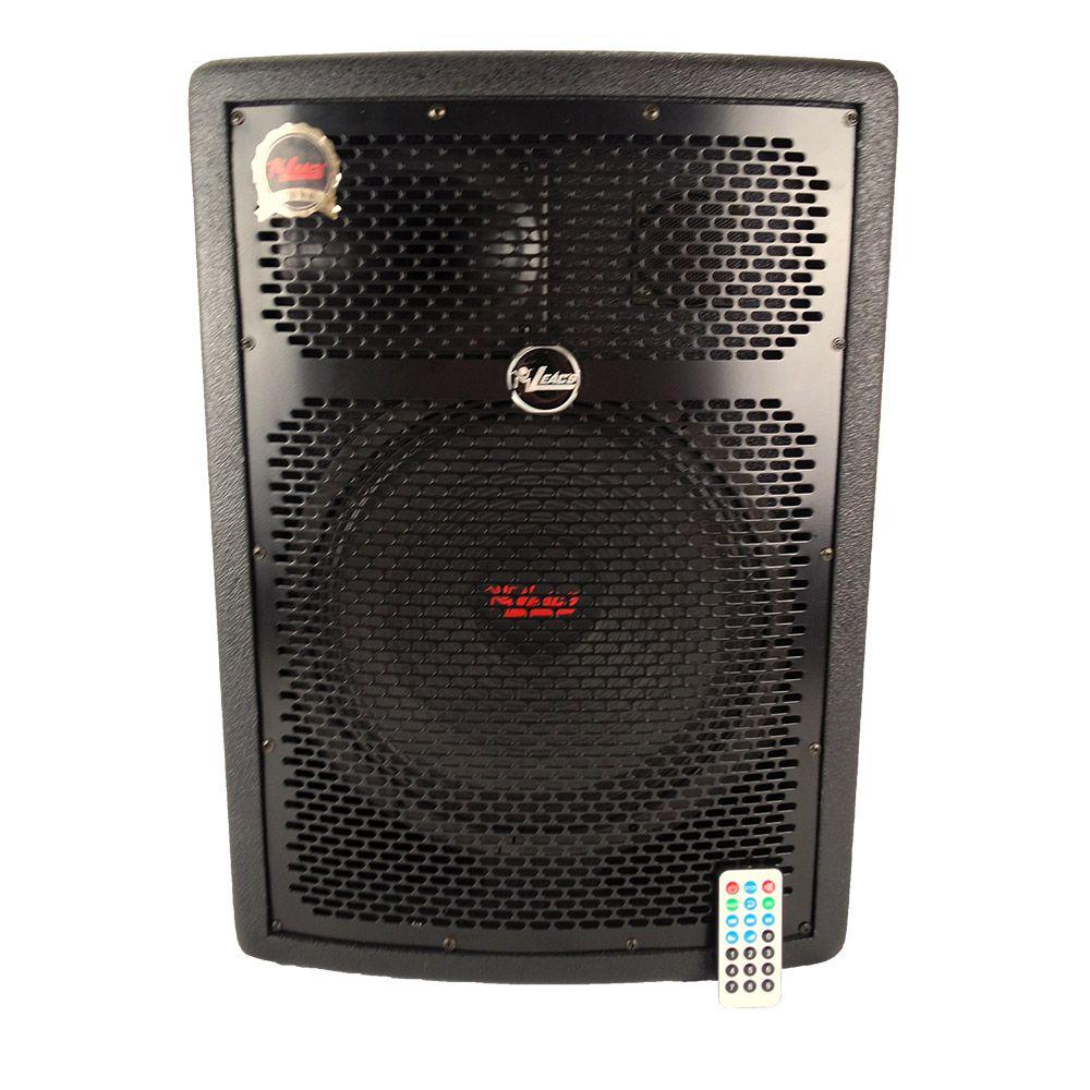 Caixa de Som Ativa Leacs 12 Pol. Fit 320a 250w Rms C/ Usb E Bluetooth