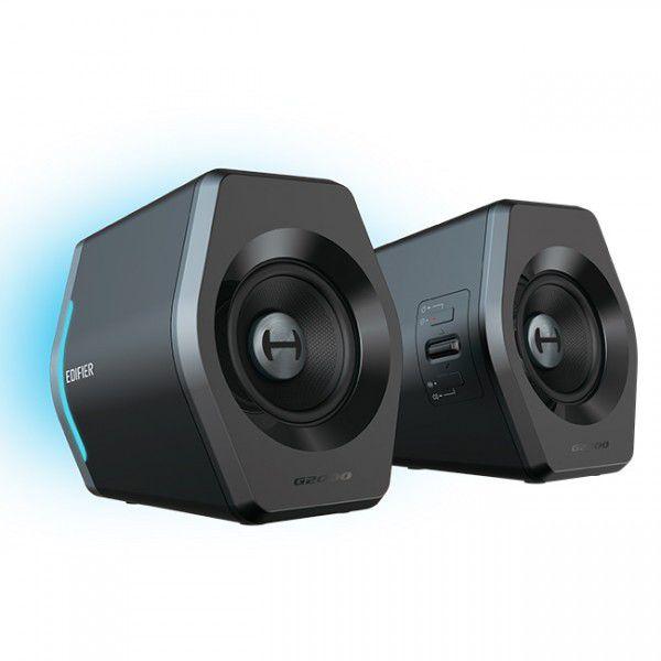 Caixa De Som Gamer Rgb Light Bluetooth Edifier G2000 32w Rms