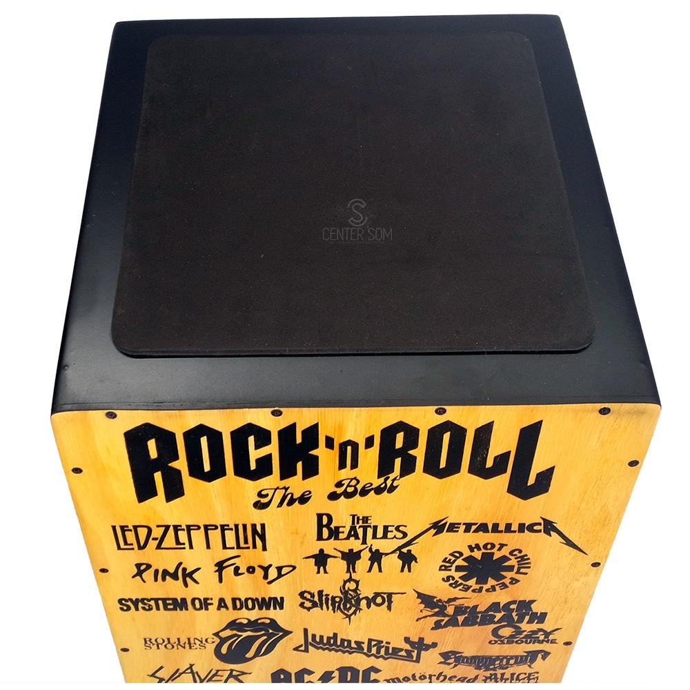 Cajon Acústico Liverpool Can L003 - Rock N` Roll