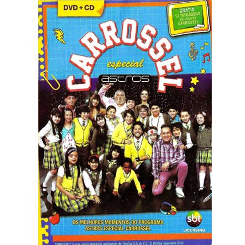 Carrossel - Especial Astros (CD+DVD)