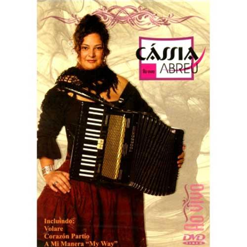 Cassia Abreu - Ao Vivo - DVD