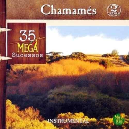 Chamamés - 35 Mega Sucessos - Instrumental - Duplo - CD