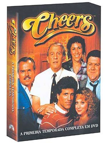 Cheers - 1ª Temporada - 4 Discos - Box - DVD