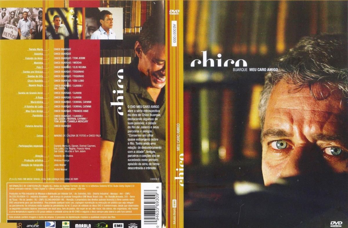 Chico Buarque - Meu Caro Amigo - DVD