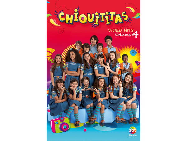 Chiquititas - Video Hits - Vol.4 - DVD