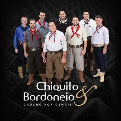 Chiquito & Bordoneio - Gaúcho por Demais - CD
