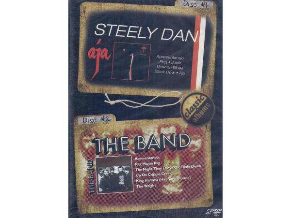 Classic Albums The Band / Steely Dan - Duplo - DVD