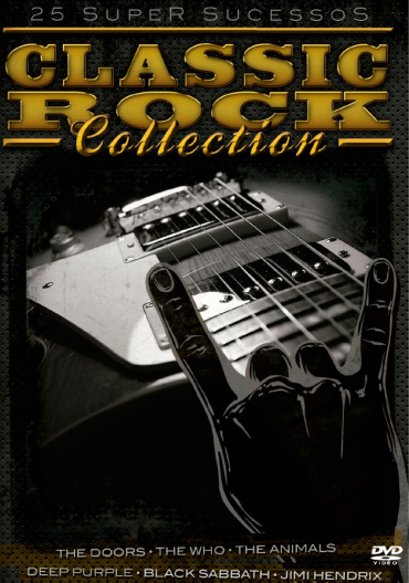 Classic Rock Collection - 25 Super Sucessos - DVD