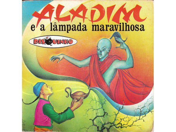 Coleção Disquinho - Aladim E A Lampada Maravilhosa - CD