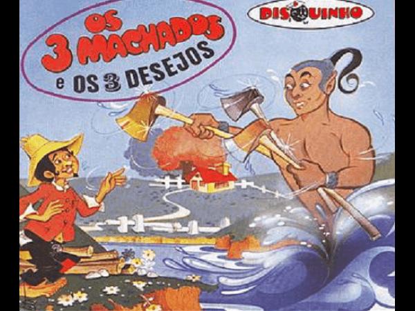 Coleção Disquinho - Os 3 Machados E Os Três Desejos - CD
