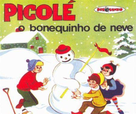 Coleção Disquinho - Picolé O Bonequinho De Neve - CD