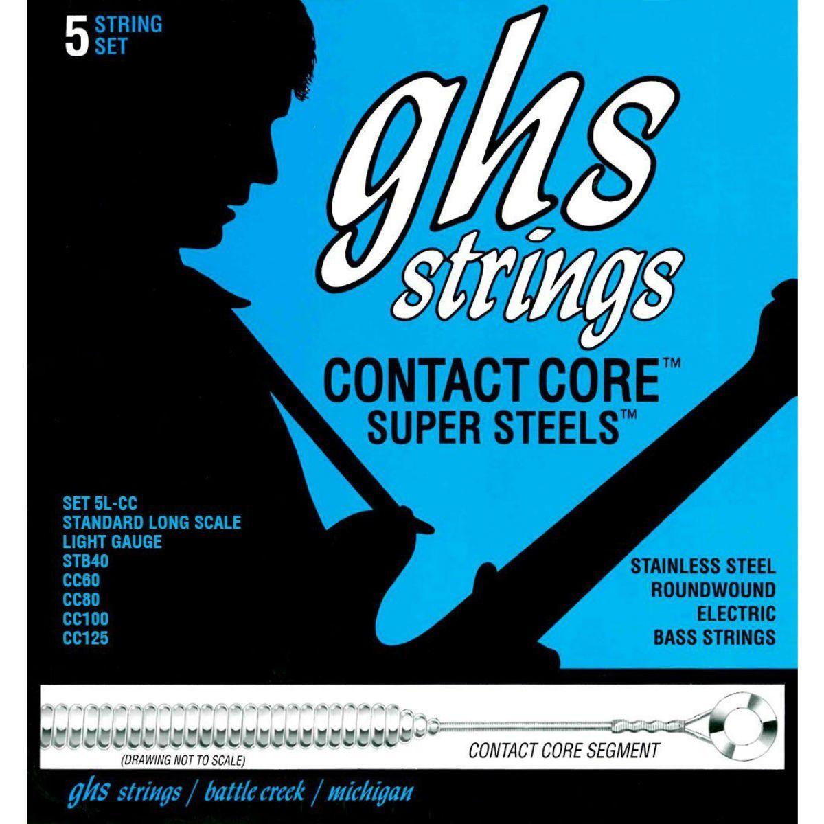 Cordas ghs para baixo 5c 5l-cc