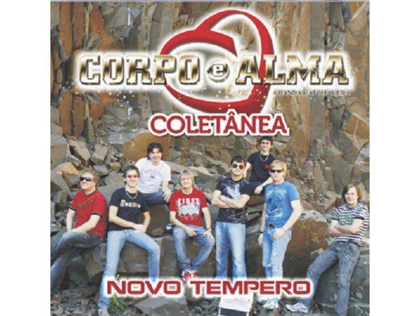 Corpo E Alma - Novo Tempero - Coletânea - CD