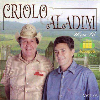 Criolo & Aladim - Mesa 16 - Vol 3 - CD