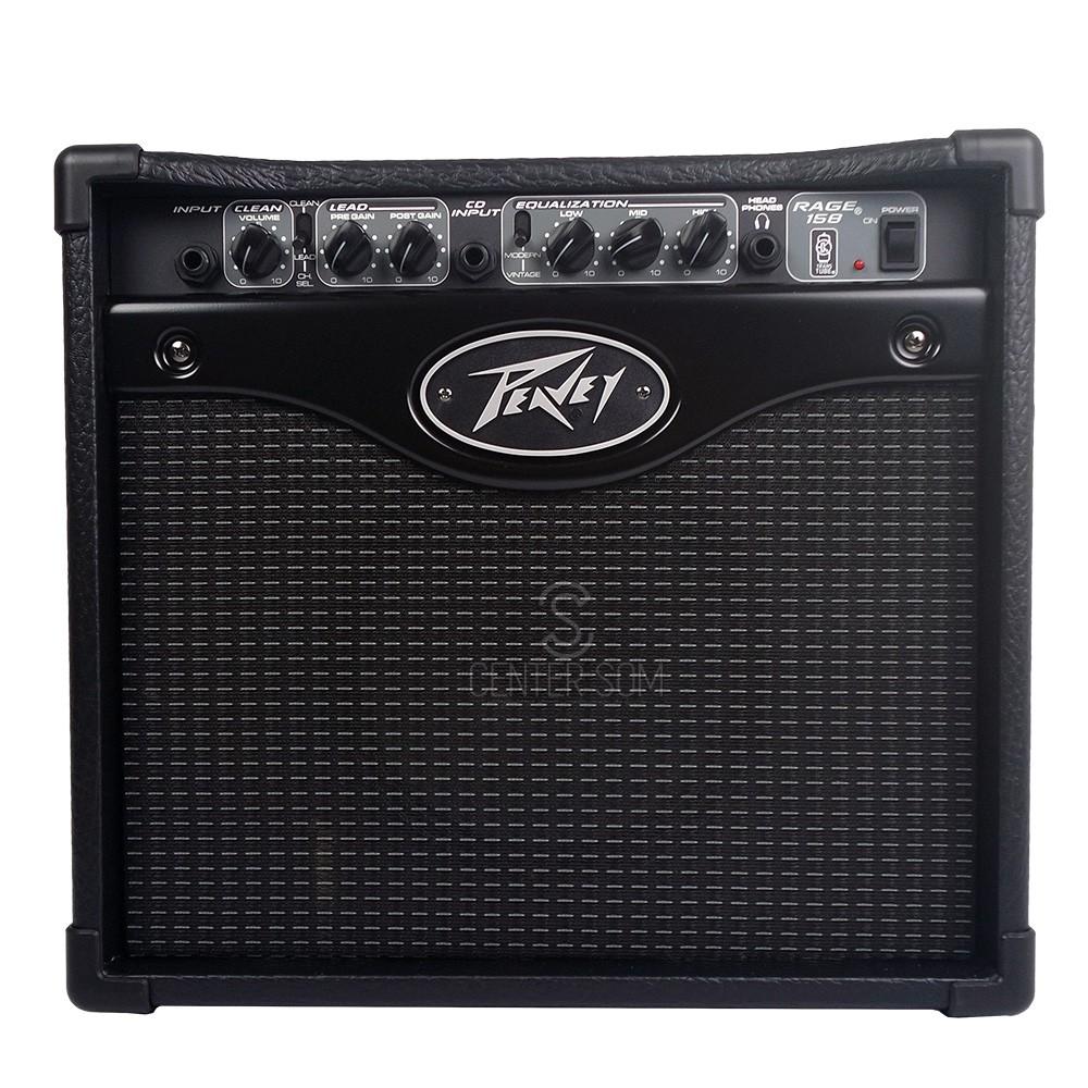 Cubo Amplificador Guitarra Peavey Rage 158 15W RMS -110v