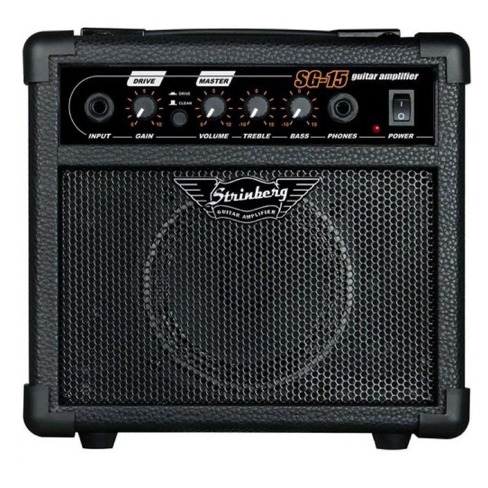 Cubo Amplificador Para Guitarra Strinberg SG15