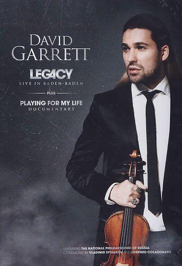 David Garrett - Legacy - Live in Baden-Baden - DVD