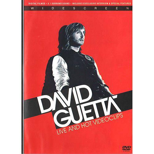 David Guetta - Live And Hot Videoclips - DVD