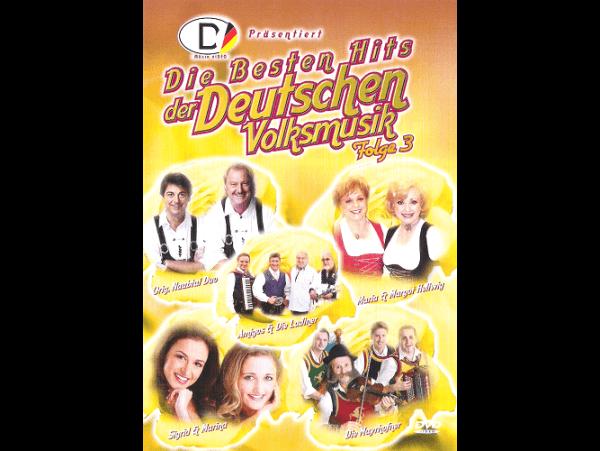 Die Besten Hits Der Deutschen Volksm. 3 - DVD
