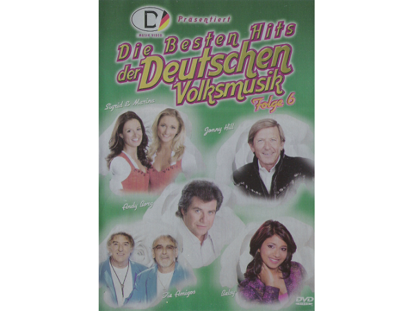 Die Besten Hits Der Deutschen Volksm. 6 - DVD