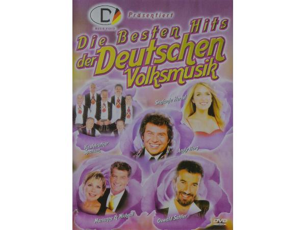 Die Besten Hits Der Deutschen Volksmusik - DVD