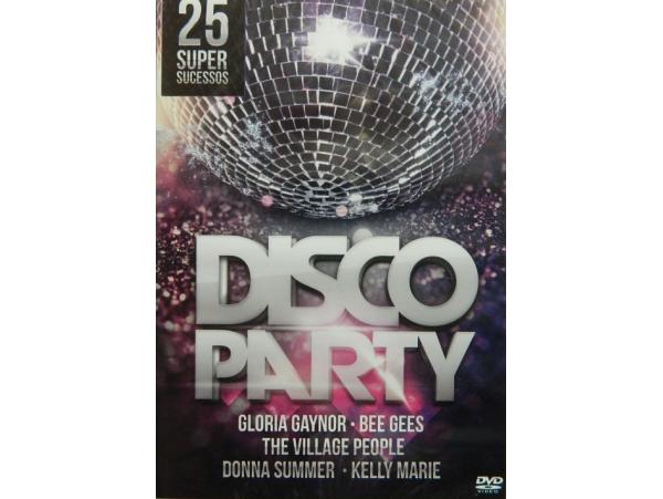 Disco Party Collection - 25 Super Sucessos - DVD