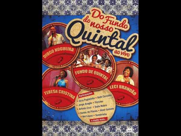 Do Fundo Do Nosso Quintal - DVD
