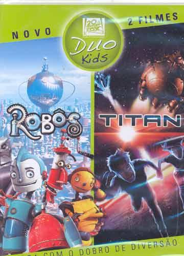 Duo Kids - Robôs+Titan - DVD