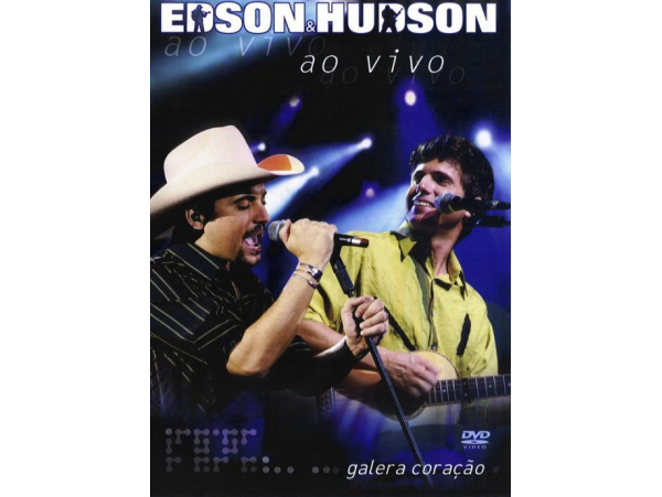Edson & Hudson - Ao Vivo Galera Coração (Digipack)...