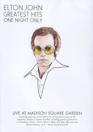 Elton John - Greatest Hits - One Night Only - DVD