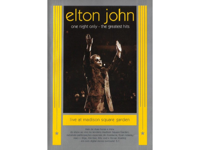 Elton John - One Night Only - The Greatest Hits - DVD