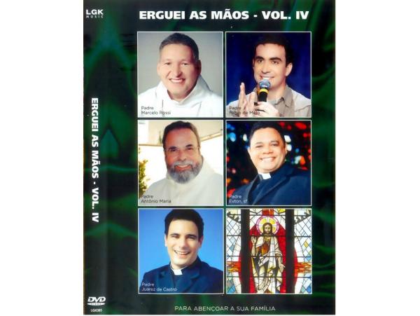 Erguei As Mãos - Vol. IV - DVD