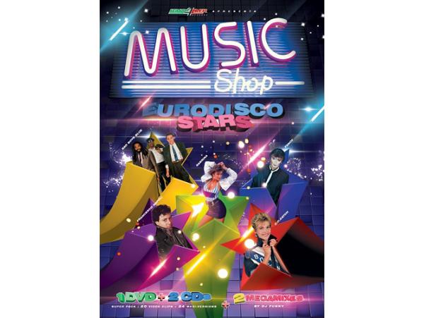 Eurodisco Stars - Music Shop (Dvd + 2 CD´s)