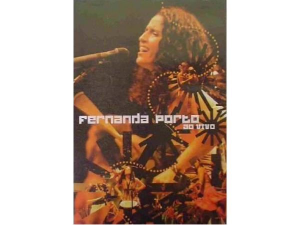 Fernanda Porto  - Ao Vivo - DVD