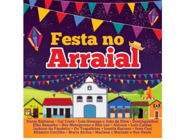 Festa No Arraial - CD