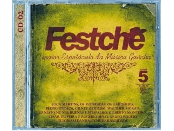 Festchê 5 - Disco 2 - CD