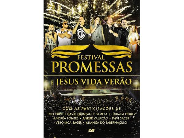 Festival Promessas e Jesus Vida Verão - DVD