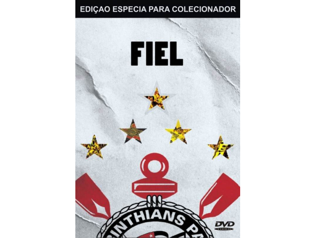 DVD Corinthians Fiel (duplo) - Item de Colecionador
