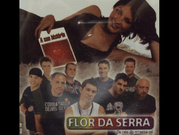 Flor da Serra - A Sua História - CD