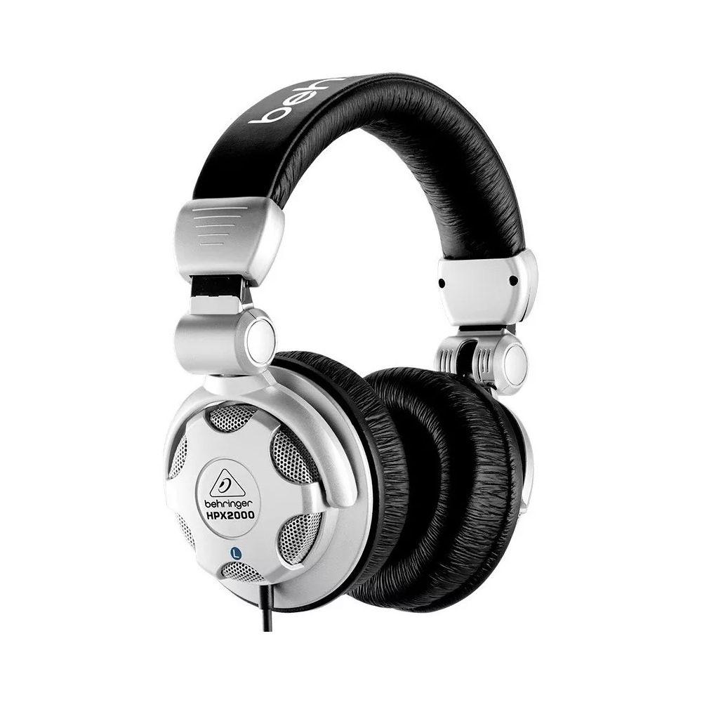 Fone de Ouvido Behringer HPX2000 DJ + Adapatador p10