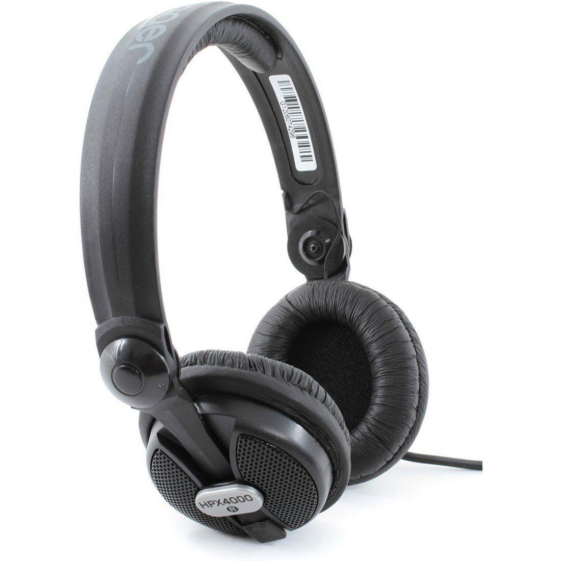 Fone De Ouvido Behringer Hpx4000 Profissional Over Ear