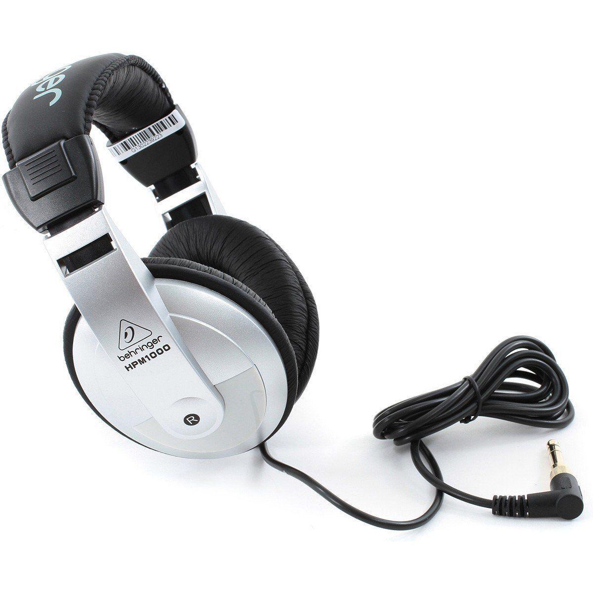 Fone De Ouvido Headphone Behringer Hpm 1000