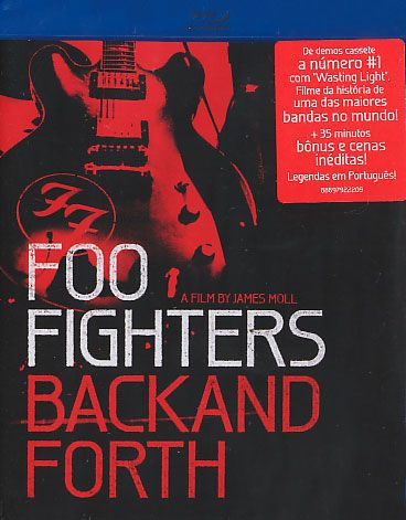 Foo Fighters - Back And Forth - Blu-ray