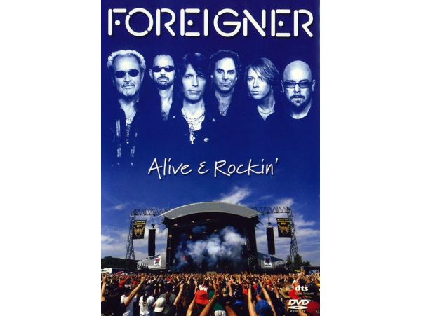 Foreigner - Alive & Rockin - DVD