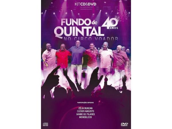 Fundo de Quintal - 40 Anos No Circo Voador - (CD+DVD)
