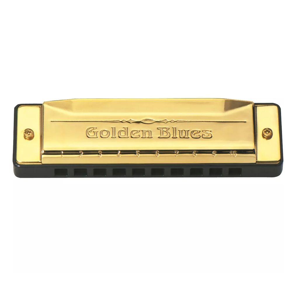 Gaita De Boca Harmônica Hering Golden Blues 5020 C- Dó