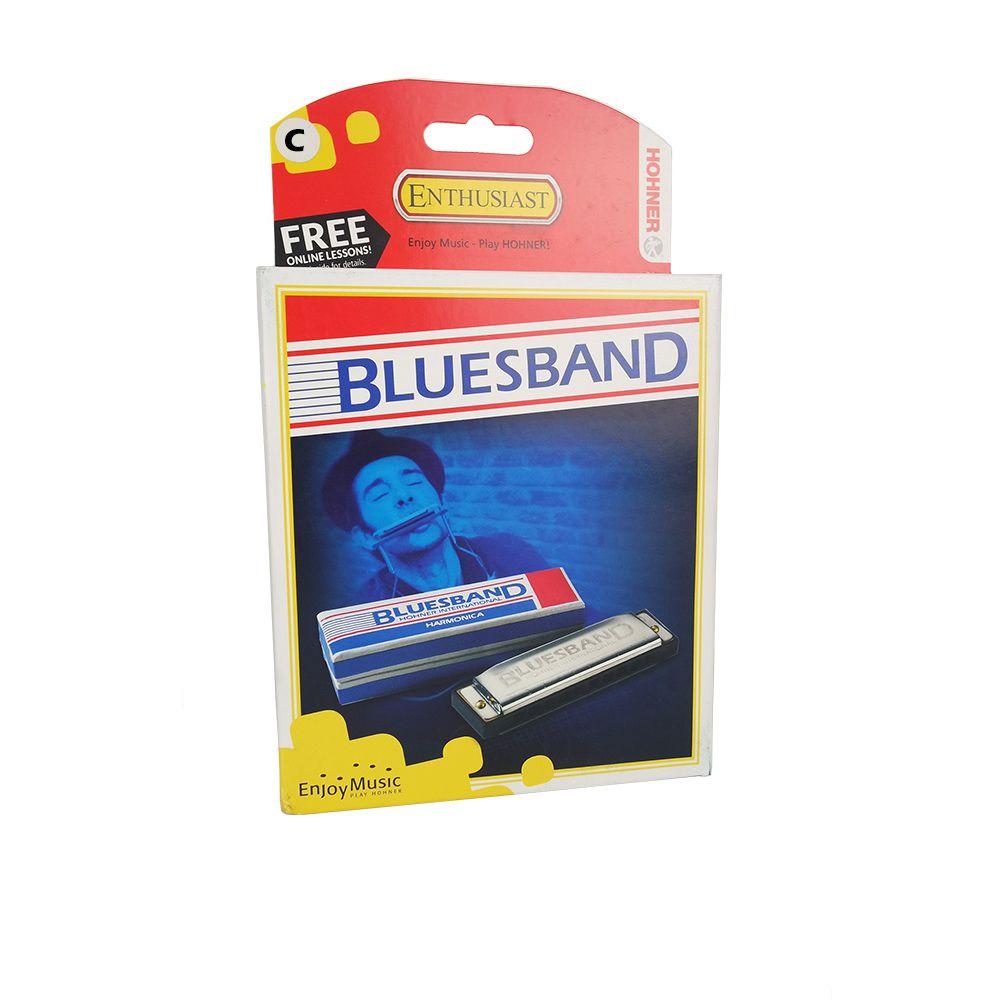 Gaita de Boca Harmônica Hohner BluesBand C