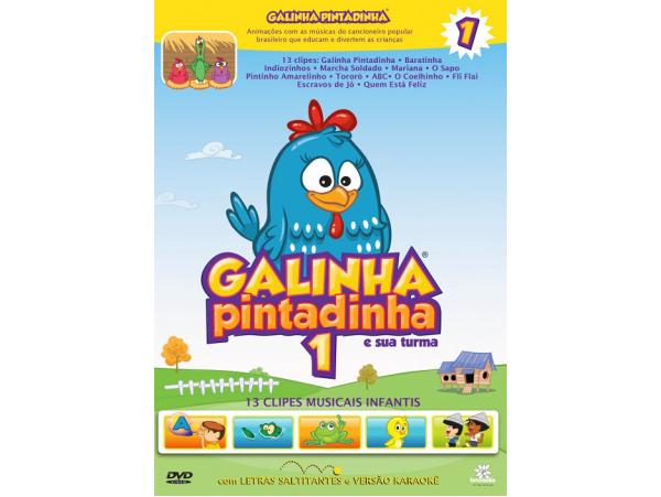 Galinha Pintadinha e Sua Turma - Volume 1 - DVD